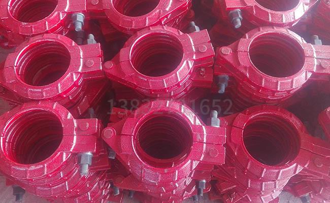 混凝土泵管卡箍