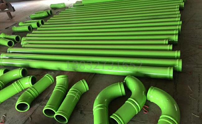 125泵车臂架泵管