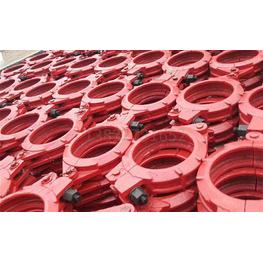 DN150高压泵车管卡