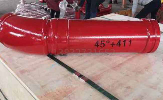 泵车弯直管