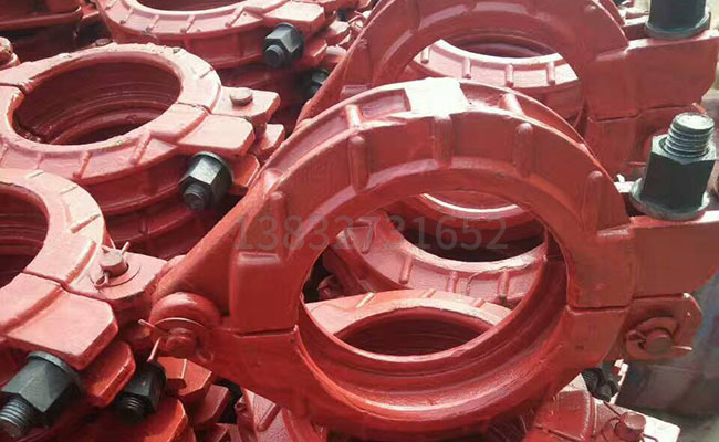 125高壓地泵管卡