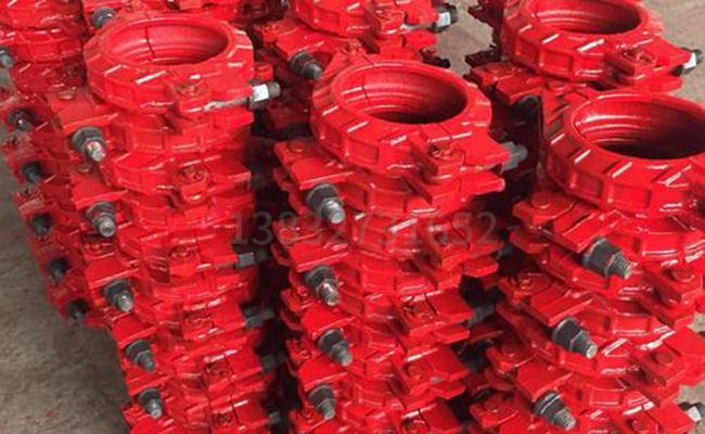 125低压泵管管卡