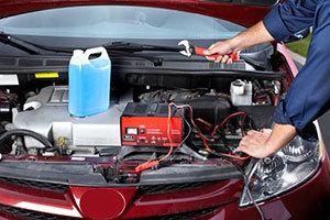 汽車電池更換