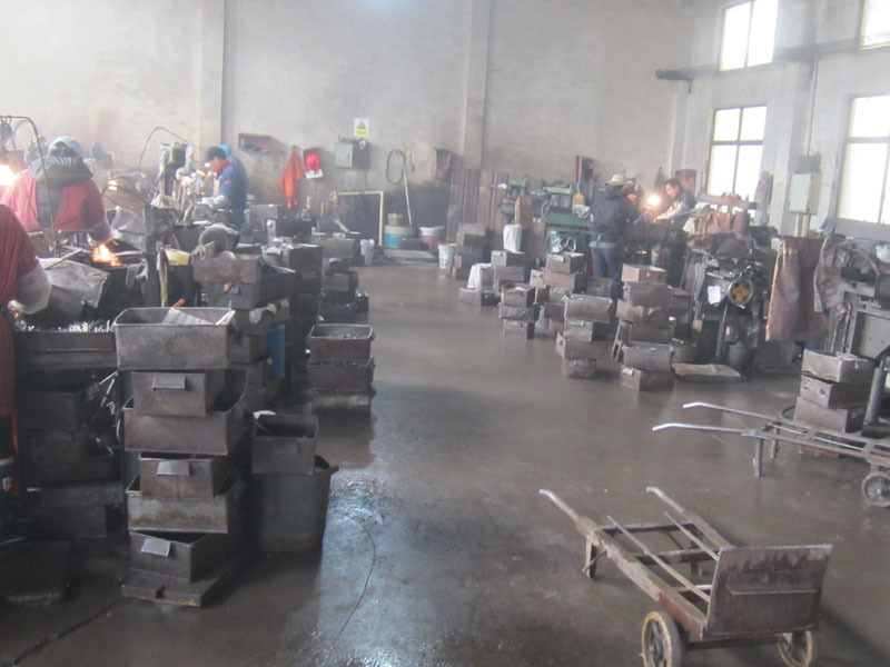 FLAT DRILL BITS GRINDING SITE