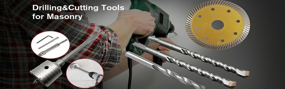 Masonry drill bits from manufacturer