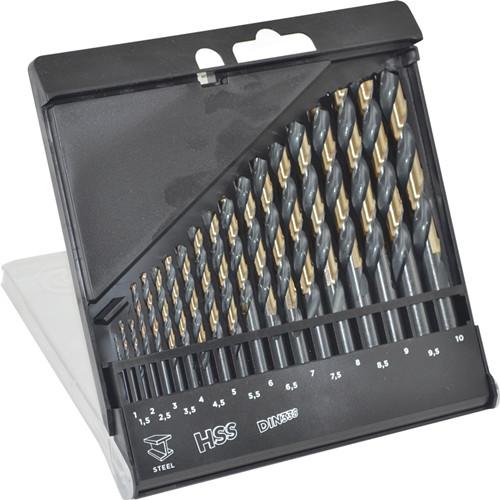 WD14190-19PCS Twist Drill Bits Set