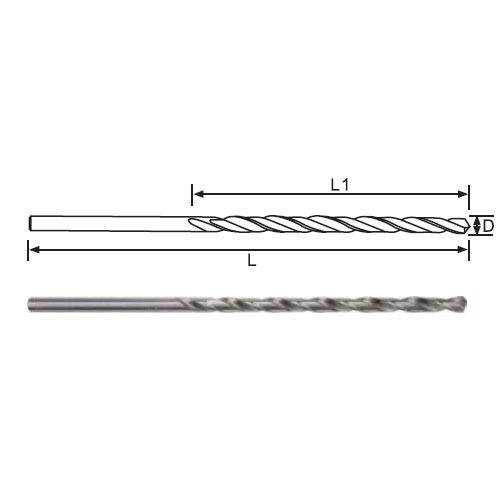 Twist Drill Bits-DIN340 Long Length