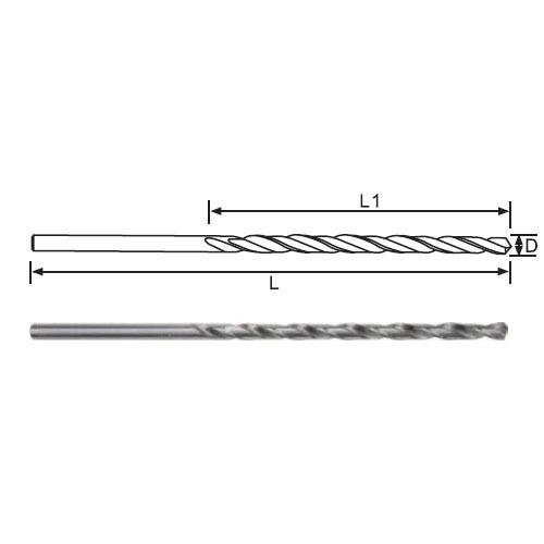 Twist Drill Bits-DIN340 Long Length