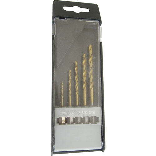 WD15050- 5PCS Hex Shank Twist Drill Bits Set