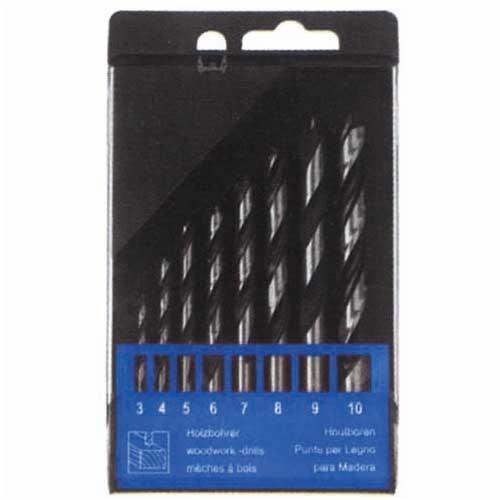 WD30080-8PCS Brad Drill Bits Set