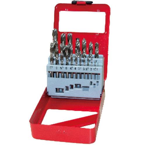 WD11191TI-19pcs half ground twist drill bits set
