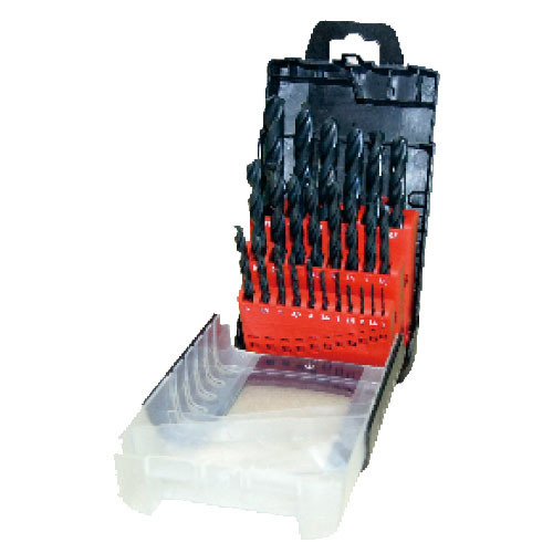 WD1225-25pcs fully ground twist drill bits set
