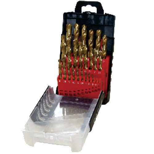 WD1225T-25pcs fully ground twist drill bits set