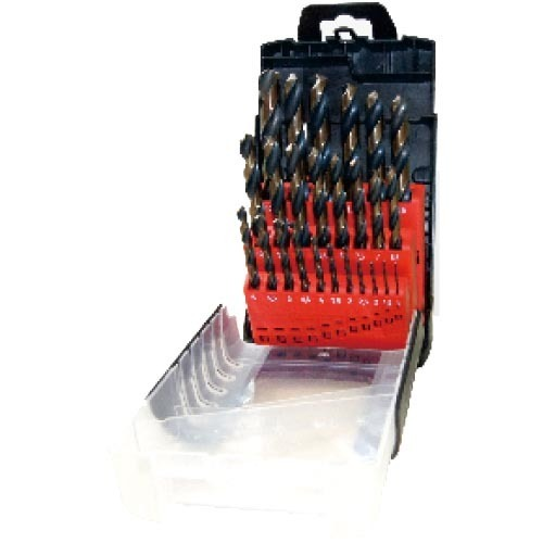 WD1225AB-25pcs fully ground twist drill bits set
