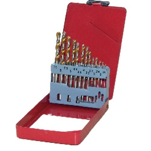 WD12132GB-13pcs fully ground twist drill bits set