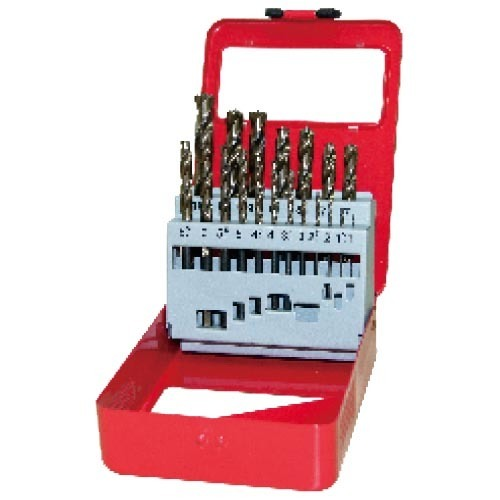 WD12191TRI-19pcs fully ground twist drill bits set