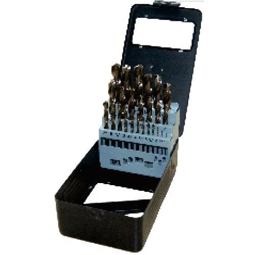 WD12251TRI-25pcs fully ground twist drill bits set