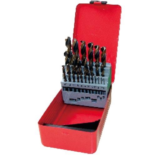 WD12251AB-25pcs fully ground twist drill bits set