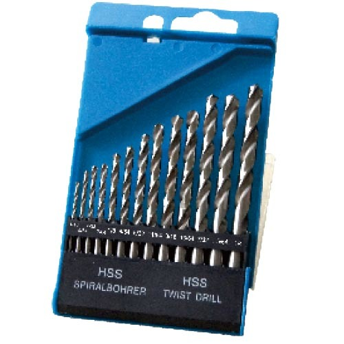 WD11130IN-13PCS half ground Twist Drill Bits Inch size
