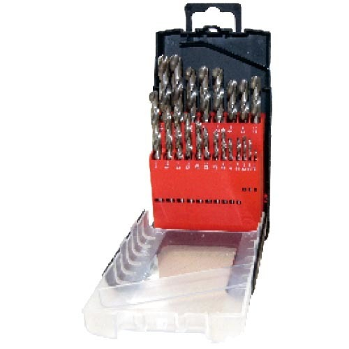 WD12210INB-21PCS fully ground Twist Drill Bits Inch size