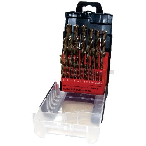 WD12290TRIIN-29PCS fully ground Twist Drill Bits Inch size multi-point