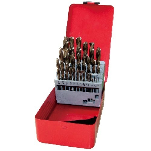 WD12291TRIIN-29PCS fully ground Twist Drill Bits Inch size multi-point