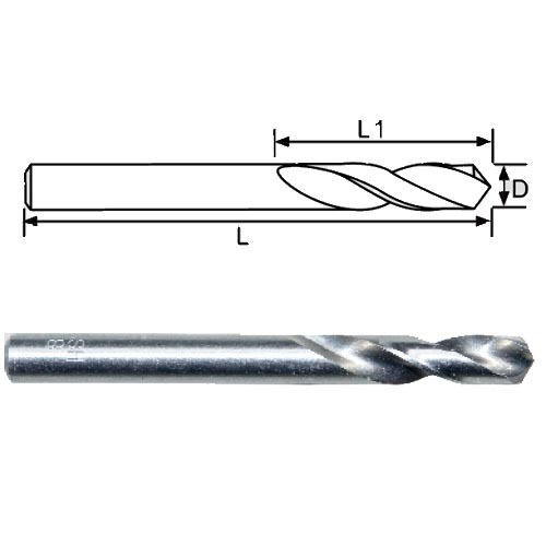 DIN 1897 Stub Length HSS Twist Drill Bits