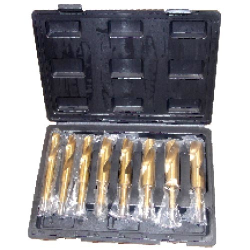 "WD8508-8PCS 1/2"" Silver and deming drill bits set"