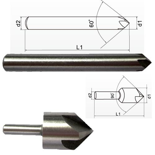 Multi-flute countersink