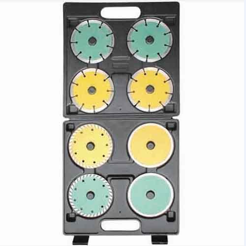WD41080-8PCS Laser Welded Diamond Saw Blade set