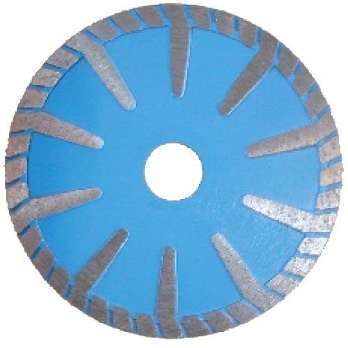 T-segmented turbo diamond saw blade