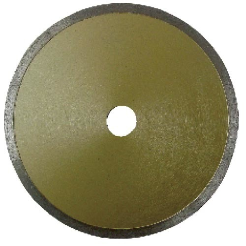 Fine fishhook sloted diamond saw blade