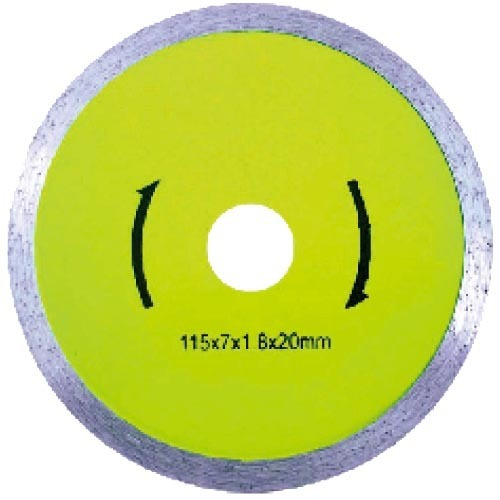 Standard continuous diamond saw blade
