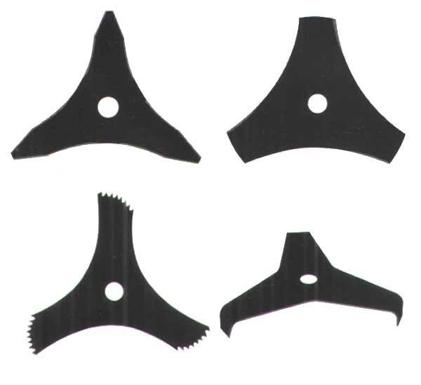 Circular Saw Blades for cutting bush and grass with 3 teeth