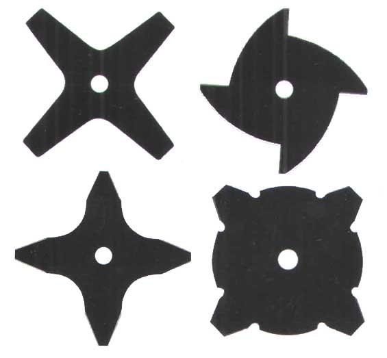 Circular Saw Blades for cutting bush and grass with 4 teeth