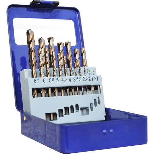 WD13190-19PCS HSS Twist drill bits set cobalt drills