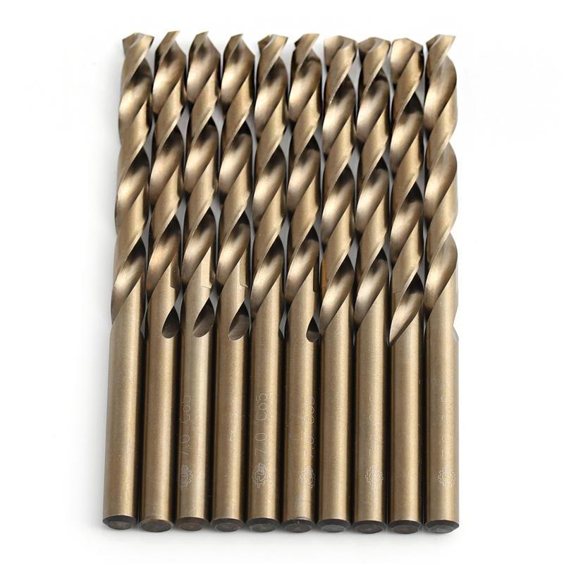 Tool Manufacturer HSS Cobalt 5% M35 Straight Shank Twist Drill Bit