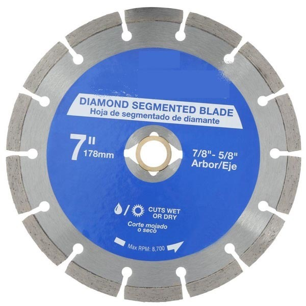 Segment diamond saw balde