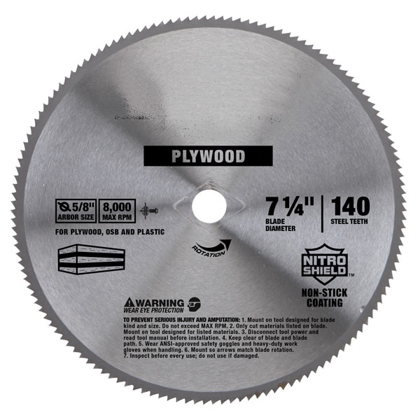 Plywood cutting circular steel saw blade from saw blades manufacturer