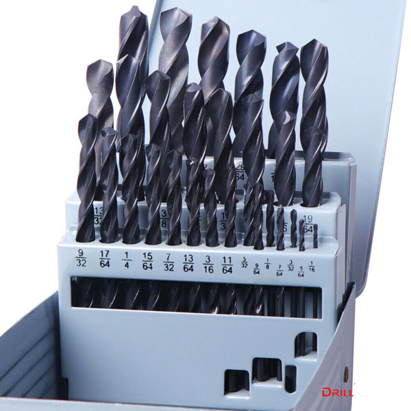 WD10290IN-29PCS Roll forged Twist Drill Bits Inch size