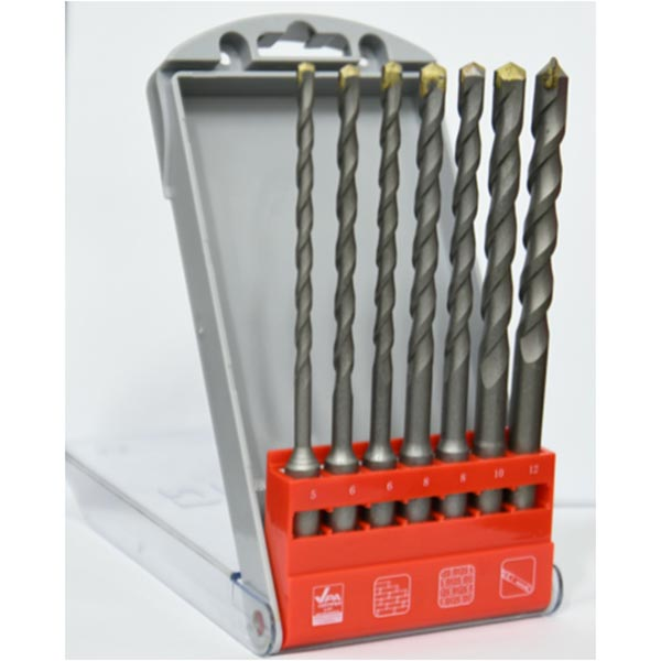 10pce SDS Plus Drill Bit Set