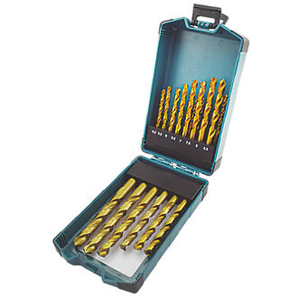 STRAIGHT SHANK HSS DRILL BITS 25 PIECE SET