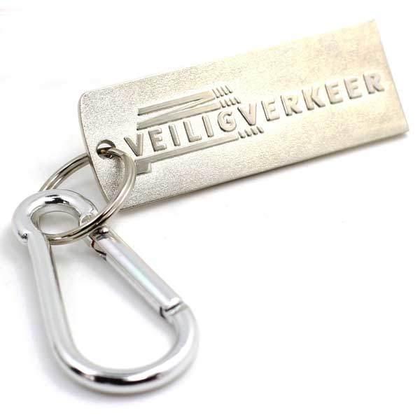 Top Sale Custom Metal 3D Key Ring Number Plate Shaped Keychain