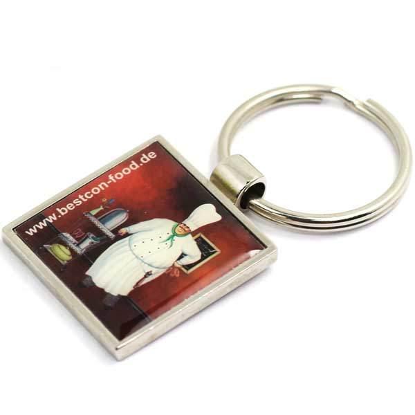 Cheap Custom Blank Sublimation Printed Digital Photo Frame Keyrings Key Chain Keychain