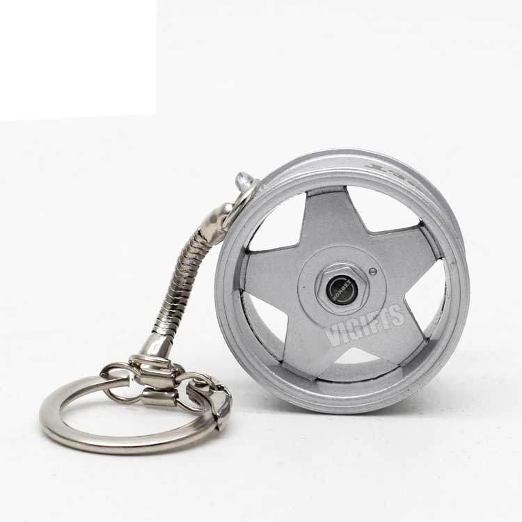 Novelty-Wheel-Rim-Keychain-Custom-Popular-Creative