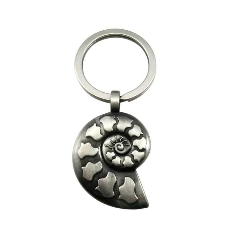 Turbo Keyring Manufacturer Custom 3D Metal Turbocharger Turbo Keychain Key Chain