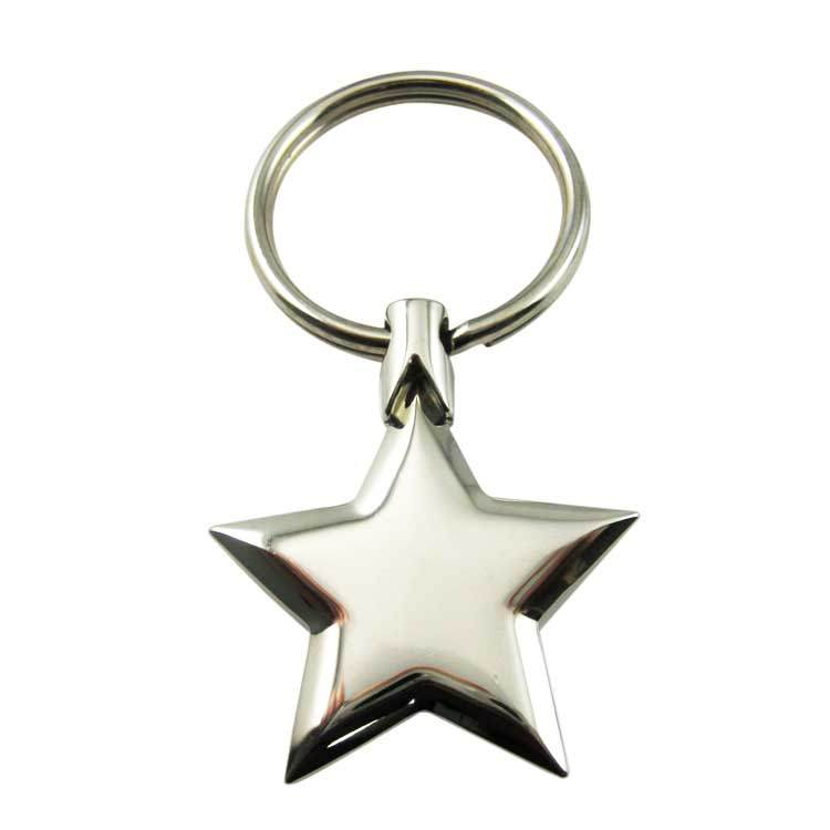 Souvenir Star Shaped Keychain from manufacturer in China
