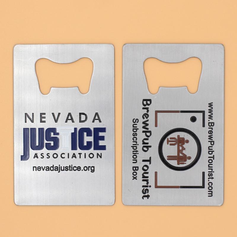 Cheap Custom Bottle Opener Fridge Magnet With Logo