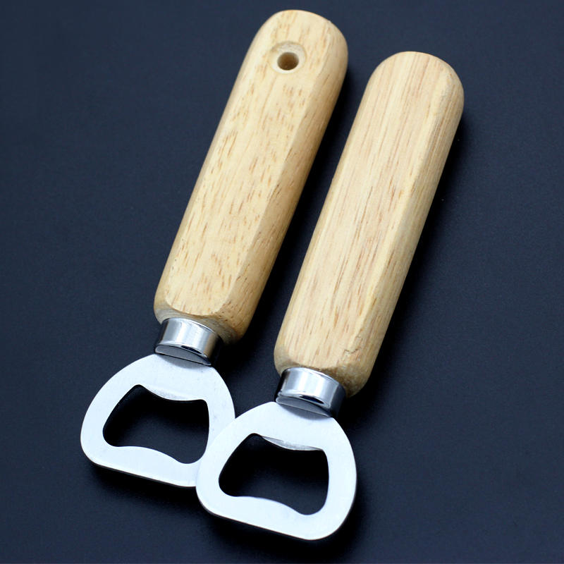 Hot Sale Factory Price Custom Wooden Handle Bottle Opener Wholesale From China
