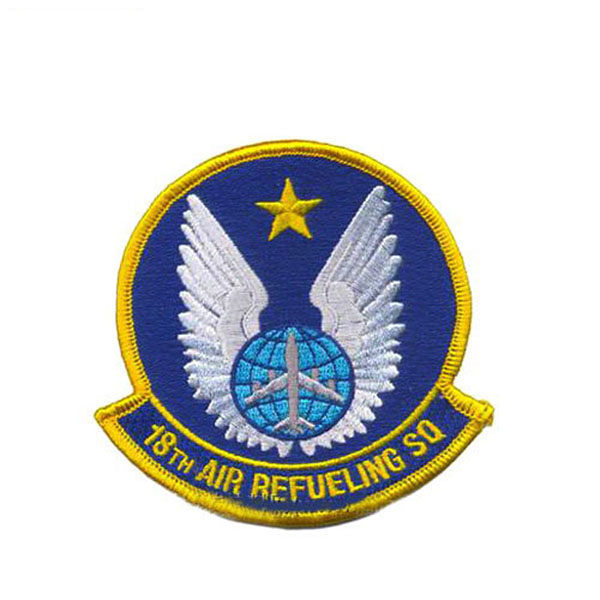 Wholesale Custom Security Emblem Applique Embroidered Patch Badge